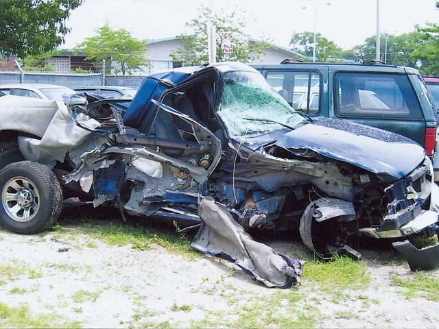 Ford Ranger Car Wreck