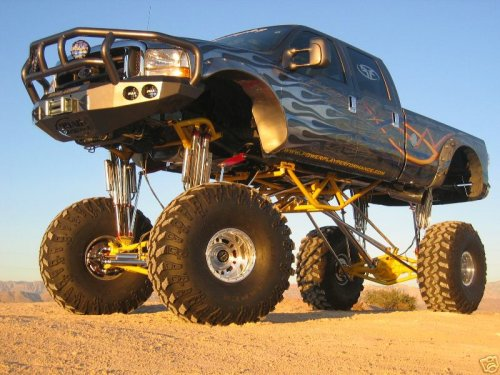 Lifted Ford Truck Picture #6
