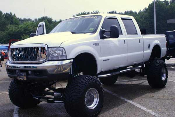 Lowered Ford Truck Picture #7