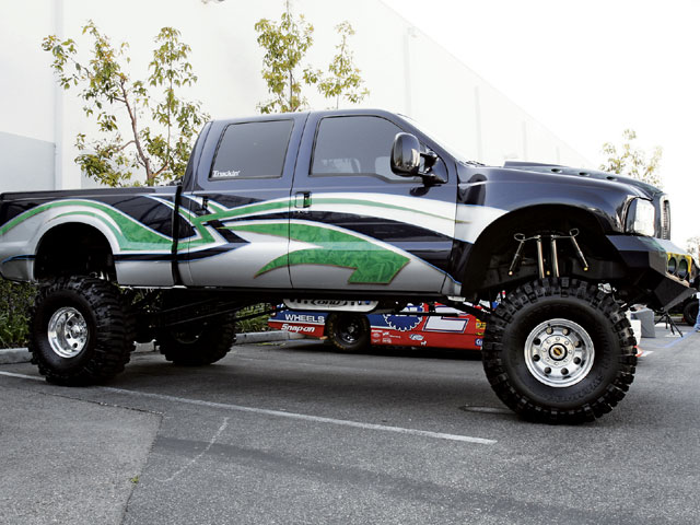 Lifted Ford Truck Picture #13