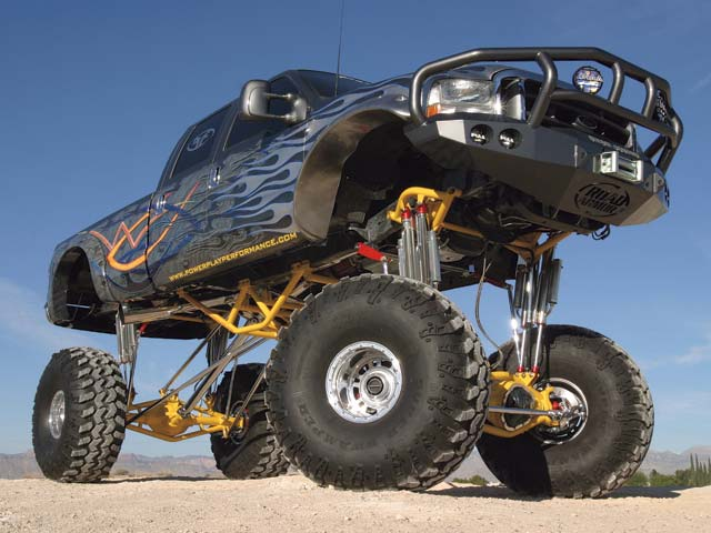 Lifted Ford Truck Picture #14