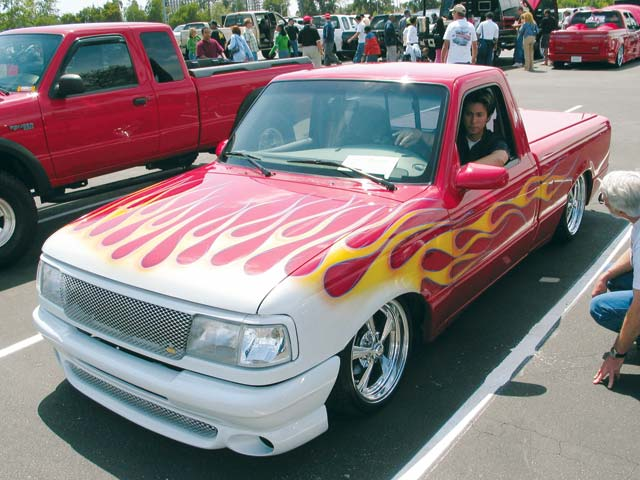 Lowered Ford Truck Picture #6
