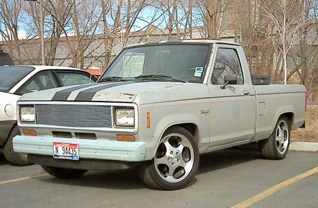 Lowered Ford Truck Picture #10